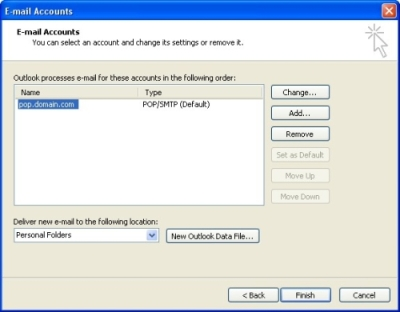 step 3 check manually configure server settings or additional server types checkbox and click next